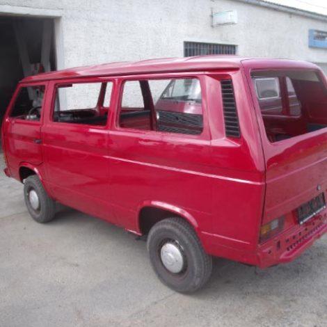 Komplettmontage restaurierter VW T3