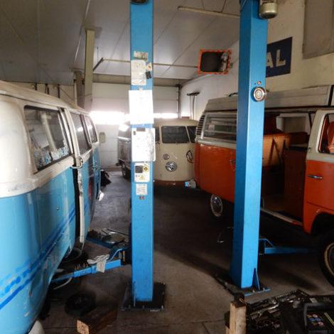 Reparaturservice für VW Bulli - Bulli Klinik Sacka